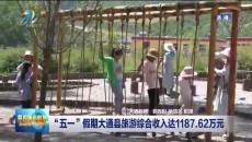 """""""五一""""假期大通县旅游综合收入达1187.62万元"""