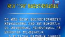 """同仁市""""三字诀""""推动党史学习教育走深走实"""