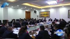 尕玛朋措参加贵德县代表团审议