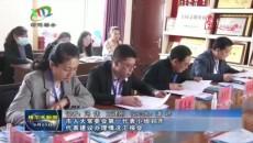 格尔木市人大常委会第一代表小组召开代表建议办理情况汇报会