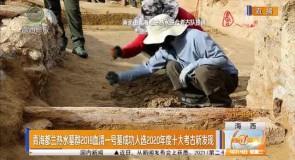青海都兰热水墓群2018血渭一号墓成功入选2020年度十大考古新发现