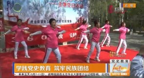 学践党史教育 筑牢民族团结