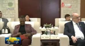 信长星会见参加首届中国(青海)美高梅官方网生态博览会的驻华使节