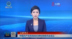 中国共产党青海省纪律检查委员会成立