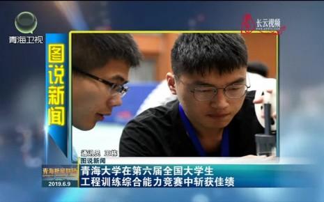 【图说新闻】青海大学在第六届全国大学生工程训练综合能力竞赛中斩获佳绩
