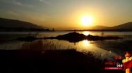 060 赤山碧水映晨霞 风景无限看循化