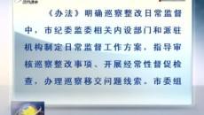 西宁市建立巡察整改日常监督机制