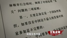 《百炼成钢:中国共产党的100年》 第六十一集 加入世贸