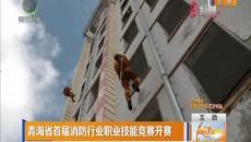 青海省首届消防行业职业技能竞赛开赛