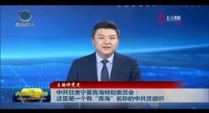 """主播講黨史 中共甘肅寧夏青海特別委員會:這是第一個有""""青海""""名稱的中共黨組織"""