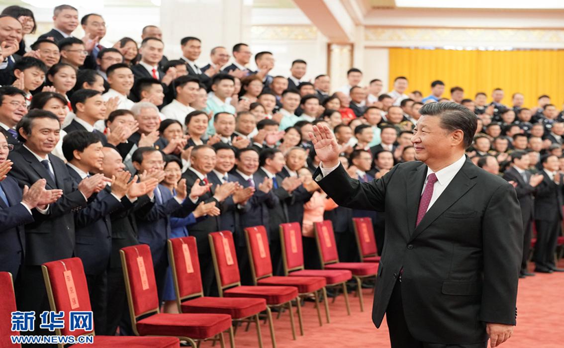 习近平亲切会见中国共产党成立100周年庆祝活动筹办工作各方面代表
