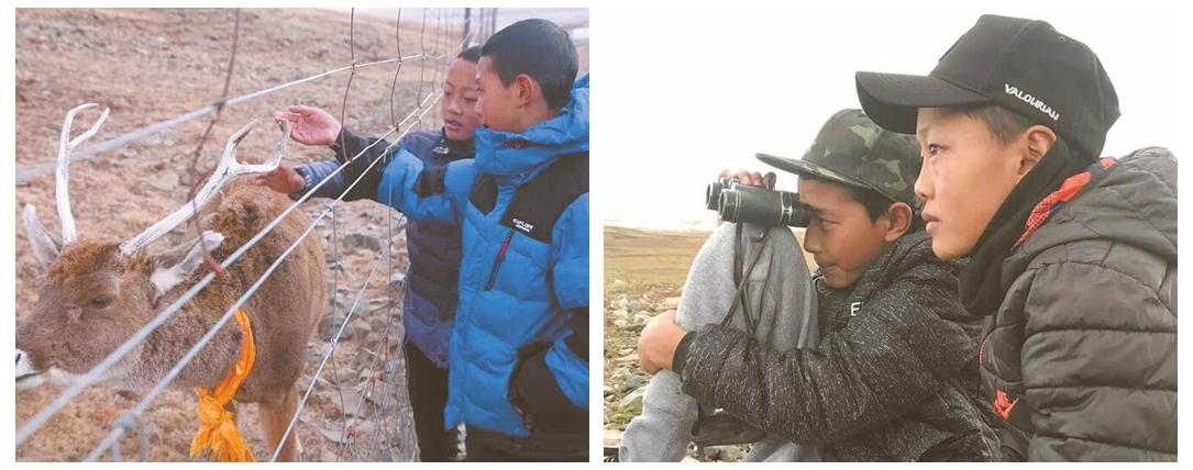 """奋斗新时代 两个藏族少年和一本""""肖才仁""""成长日记"""