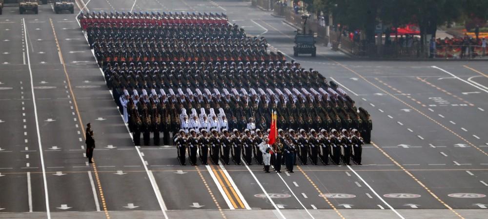 庆祝中华人民共和国成立70周年大会:仪仗方队