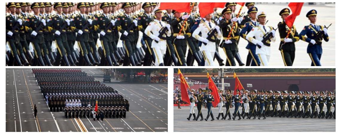 慶祝中華人民共和國成立70周年大會:儀仗方隊