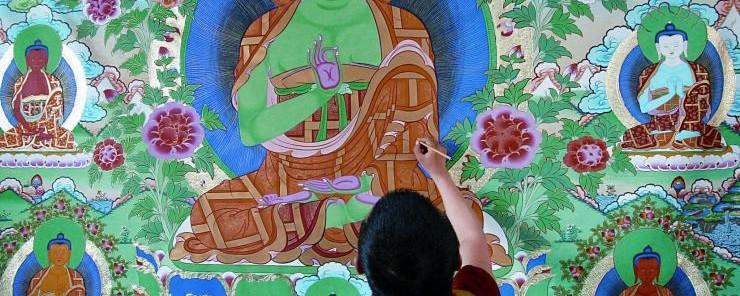 塔尔寺三绝 佛教艺术的奇观