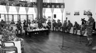 書香禮贊新時代 文化擁軍促和諧