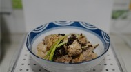 香菇菜蒸排骨