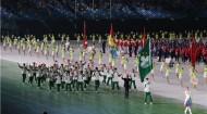 港澳运动健儿亮相全运会受到热烈欢迎