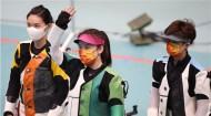 苗婉茹女子50米步枪三姿超世界纪录夺金