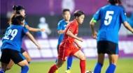 联合队与上海队会师女足成年组决赛