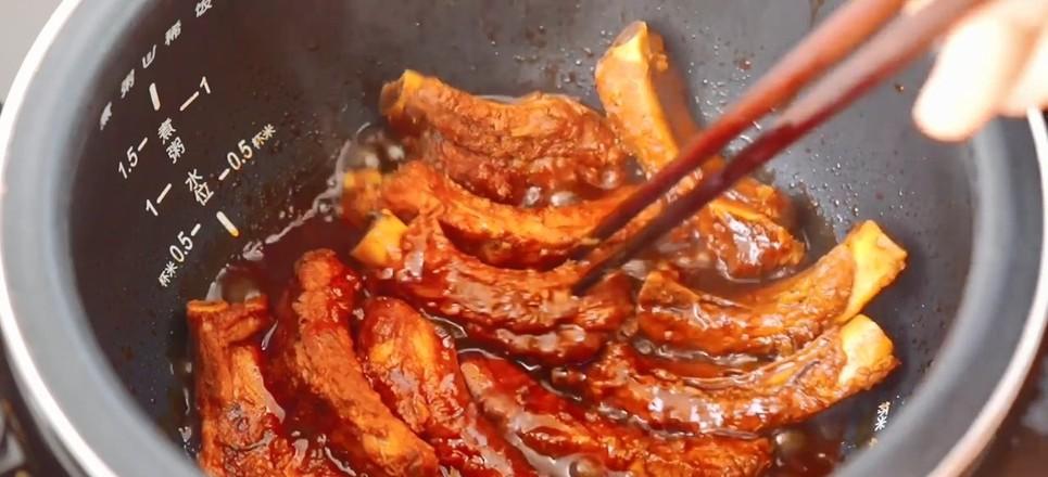电饭煲焖排骨的步骤
