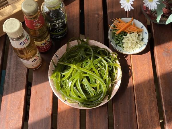 夏日必备之凉爽小菜,凉拌海带丝的步骤