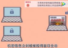保密法宣传 文件不乱传
