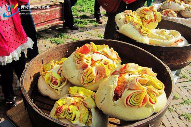 青海农家月饼里的中秋味