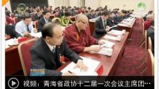 青海省政协十二届一次会议主席团举行第一次会议