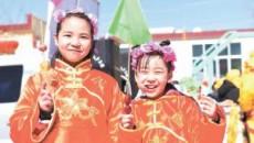青海社火鬧新春:青海省湟中縣李家山鎮社火展演