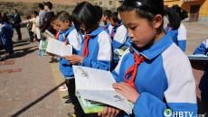 爱心传递 共享书香 青海阳光公益志愿者图书捐赠走进大通