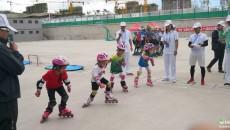 青海省运会轮滑比赛在西宁开赛
