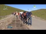 祁连:贫困户当上农村公路养护人