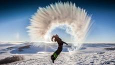 海西州冬季旅游大幕开启 柴达木演绎冰雪奇缘