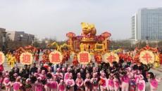 """""""新时代·祥踏春来""""西宁市城西区优秀社火拜大年"""