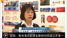 青海清洁能源发展研究院成立并首次发布清洁能源发展白皮书