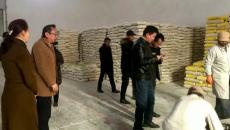 三江源国家公园管理局举行抗雪救灾物资发放仪式