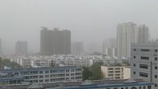 西宁受甘肃沙尘暴的影响 遭遇浮尘天气