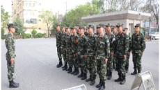 武警西宁支队执勤四中队扎实搞好应急避险演练