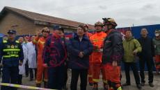匡湧在指導全省跨區域地質災害實戰拉動演練時強調