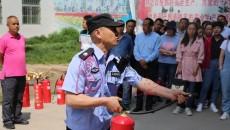 青海廣播電視臺舉行大型消防綜合演練活動
