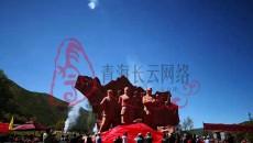 班玛县举行庆祝长征胜利83周年、建军92周年暨红军长征纪念碑落成揭幕仪式