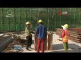 【夏秋季攻勢專項行動】青藏樞紐格爾木站站房修建已完成工程量的80%