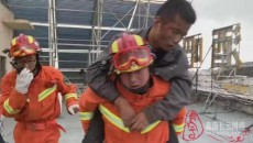 青海海西:德令哈一維修工人被困電梯,海西消防火速救援