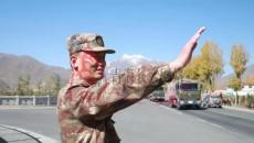 駐軍汽車兵梯隊陸續完成進藏運輸任務