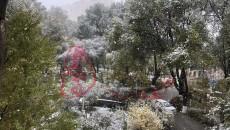 氣象:我省多地漫天飛雪 西寧迎來初雪