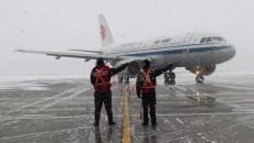 ?西寧機場有效應對冬航季換季后首場降雪