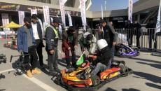 2019青海省全民健身汽車摩托車繞樁賽、青海省卡丁車大賽正式舉辦