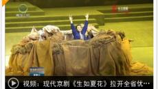 现代京剧《生如夏花》拉开全省优秀剧(节)目展演大幕