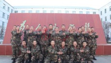 武警海北支队开展队史教育为新兵铸魂引航